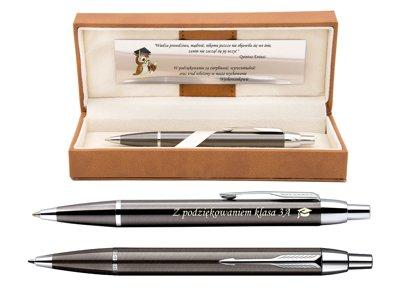 Długopis Parker IM Gun Metal CT Prezent Grawer