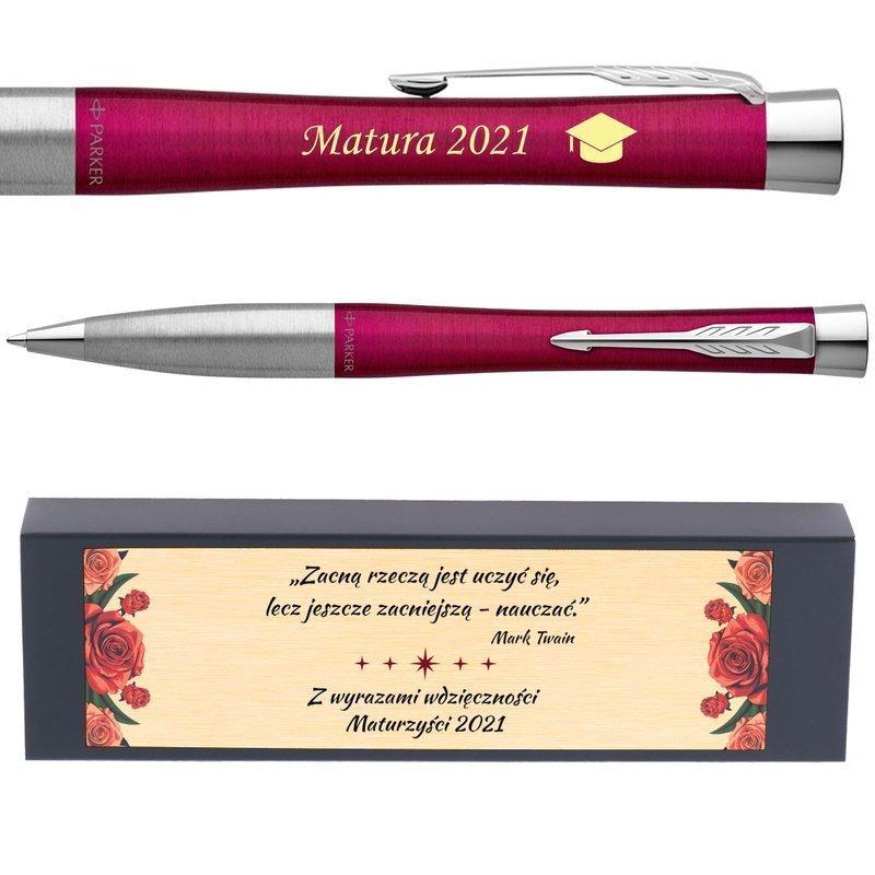 Długopis Parker Urban Twist Różowy Grawer Dedykacja