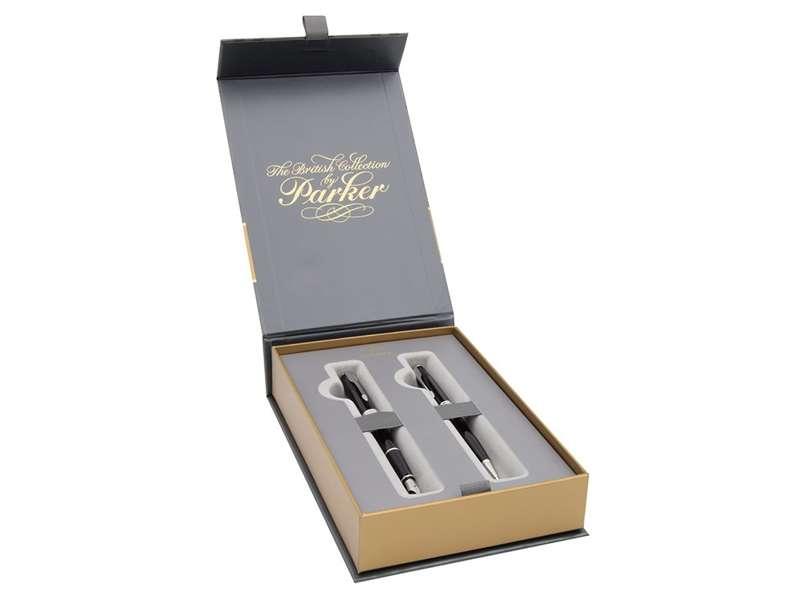 Parker Sonnet Pióro Wieczne i Długopis Etui Grawer