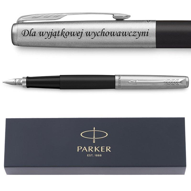 Pióro wieczne Parker Jotter Special Czarny z Grawerem