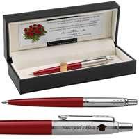 Długopis Parker Jotter Special Czerwony Prezent z Twoim Grawerem i Dedykacją