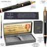 Długopis Parker IM Czarny GT z Grawerem Etui Torebka 4