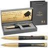 Długopis Parker Urban Czarny GT Prezent z Grawerem Etui Torebka 1