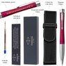 Długopis Parker Urban Twist Różowy Grawer + Etui 4