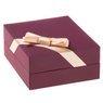 Naszyjnik koniczynka złoto pr.585 GRAWER różowa kokardka 9