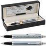 Parker IM Długopis Blue Grey CT Czarne Etui Grawer 1