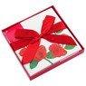 Pudełko na prezent czerwone róże M+ 3