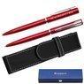 Waterman Allure Długopis Czerwony CT + Etui Grawer 1