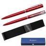 Waterman Allure Długopis Czerwony CT + Etui Grawer 2