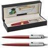 Zestaw Długopis Ołówek Jotter Parker Czerwony CT Prezent Grawer 1