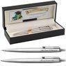 Zestaw Długopis i Ołówek Parker Jotter stalowe CT Etui z Grawerem 1