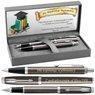 Zestaw Parker IM Długopis Pióro Dark Espresso CT z Grawerem 1