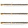 Zestaw Parker IM Pióro + Długopis Brushed GT z Grawerem 5