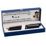 Zestaw Pióro Długopis Waterman Allure Czarne CT z Grawerem 2
