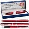 Zestaw Pióro Długopis Waterman Allure Czerwony CT z Grawerem 1
