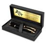 Zestaw Pióro wieczne Długopis Parker IM Czarny GT z Grawerem 2