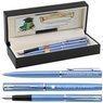 Zestaw Pióro wieczne Długopis Waterman Allure niebieskie CT Etui z Grawerem 1