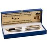 Zestaw Pióro wieczne Długopis Waterman Hemisphere stalowy GT z Grawerem 2