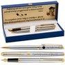 Zestaw Pióro wieczne Długopis Waterman Hemisphere stalowy GT z Grawerem 1