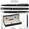Zestaw Waterman Pióro Długopis Allure Czarne CT z Grawerem 7